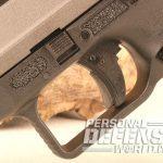 Canik TP9SFx pistol trigger
