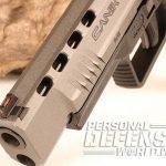 Canik TP9SFx pistol muzzle