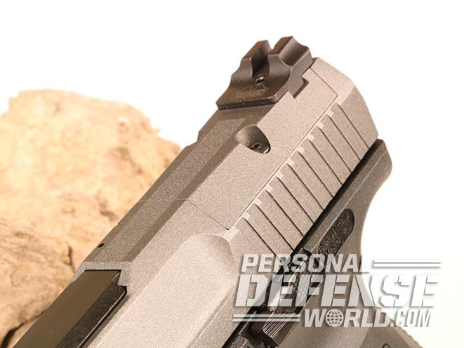 Canik TP9SFx pistol rear sight