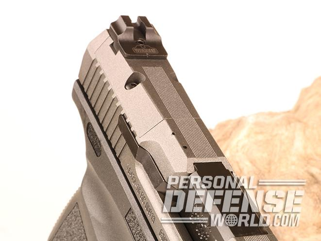 Canik TP9SFx pistol sight