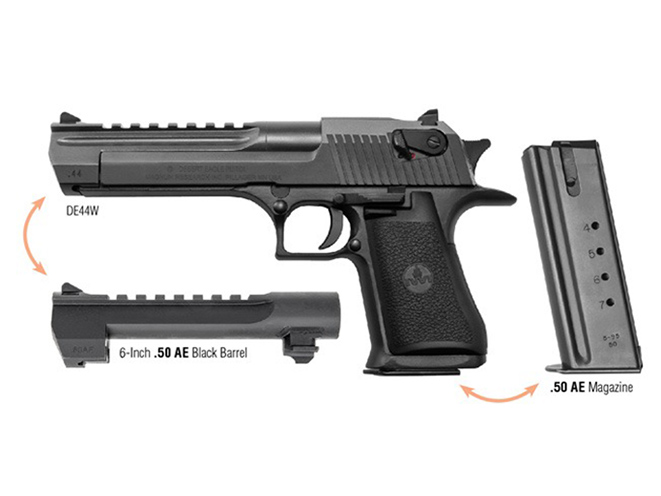 Magnum Research desert eagle pistol combo caliber package