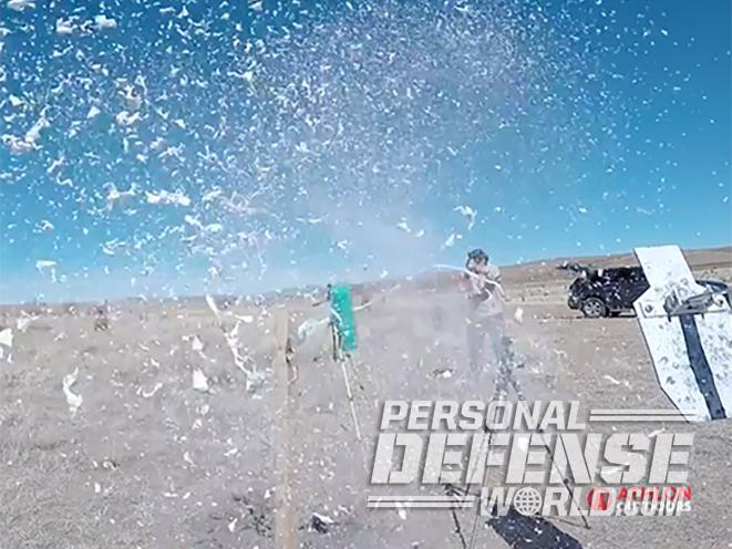 Magnum Research desert eagle pistol combo caliber package shooting gun test