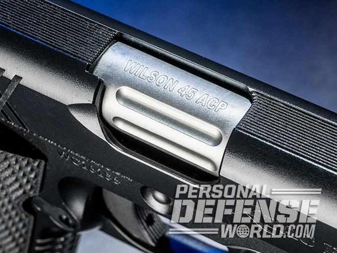 Wilson Combat X-TAC Elite Carry Comp pistol ejection port