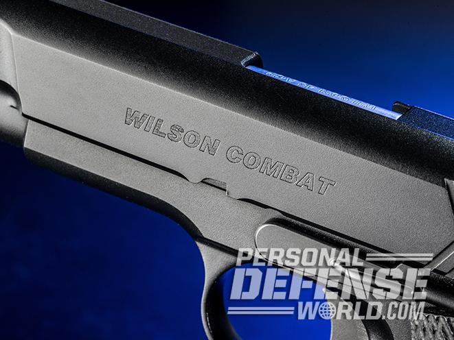 Wilson Combat X-TAC Elite Carry Comp pistol finish
