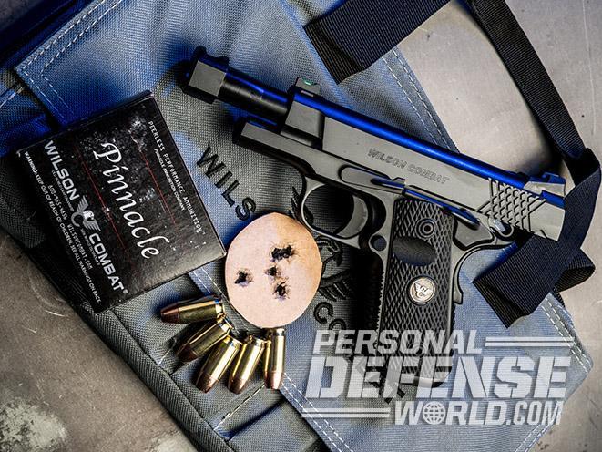 Wilson Combat X-TAC Elite Carry Comp pistol target