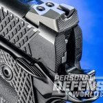 Wilson Combat X-TAC Elite Carry Comp pistol 40-lpi serrations