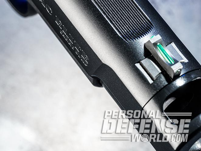 Wilson Combat X-TAC Elite Carry Comp pistol front sight