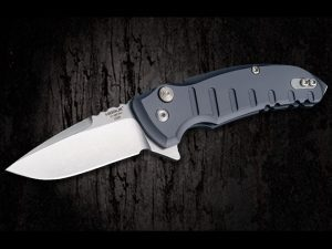 Hogue X1-Microflip knife grey