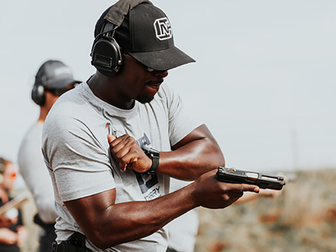NRA Carry Guard Expo colion noir