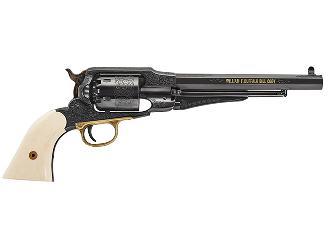 Uberti1858 Buffalo Bill Centennial new revolvers