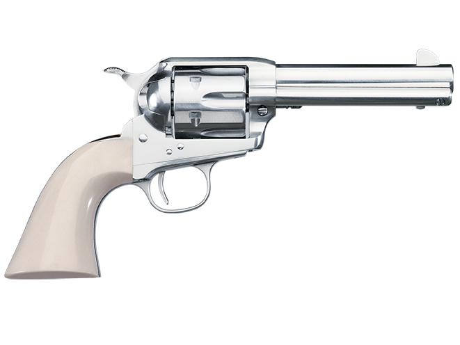 Uberti Short Stroke SASS Pro Nickel new revolvers