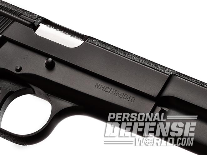 nighthawk browning hi-power gunsite 250 pistol slide