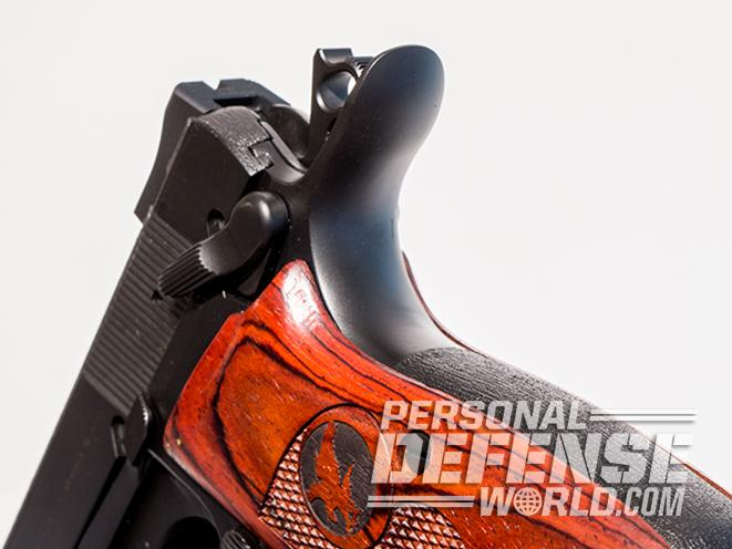 nighthawk browning hi-power gunsite 250 pistol hammer