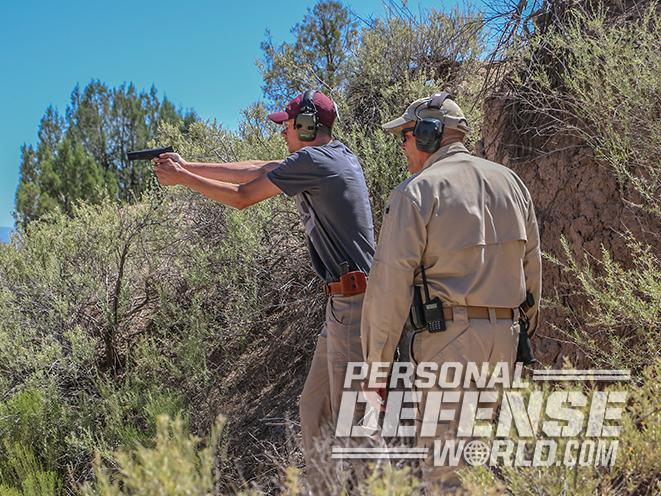 nighthawk browning hi-power gunsite 250 pistol test