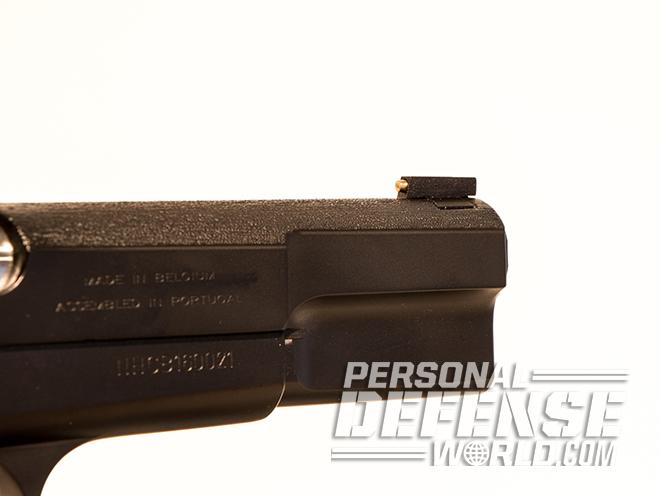 nighthawk browning hi-power gunsite 250 pistol front sight