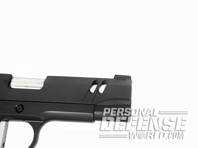 Nighthawk Tri Cut Carry exposed barrel