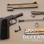 Ruger SR1911 Lightweight Commander 9mm pistol takedown