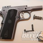 Ruger SR1911 Lightweight Commander 9mm pistol series 70 trigger