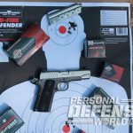 Ruger SR1911 Lightweight Commander 9mm pistol target