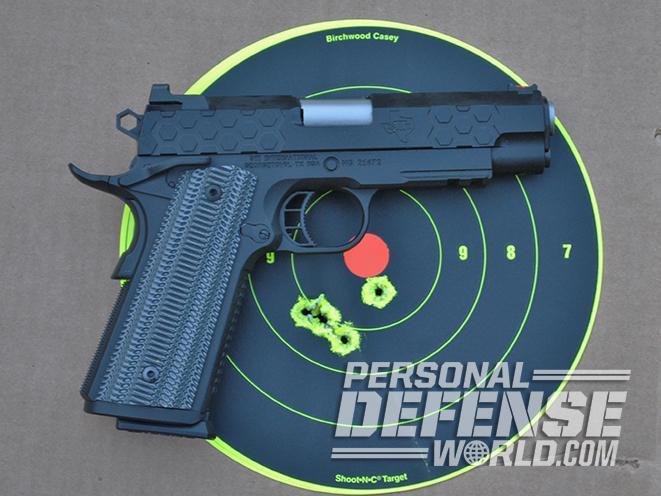 STI HEX Tactical SS 4.0 PISTOl target