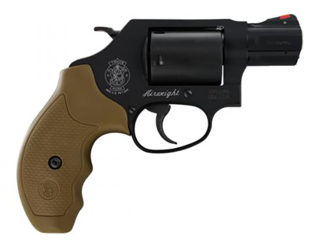 Smith & Wesson Model 360 357 Magnum revolver right profile
