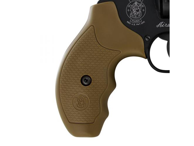 Smith & Wesson Model 360 357 Magnum revolver grip