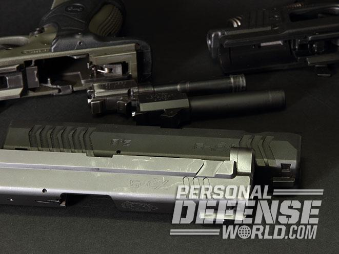 Springfield XD pistol slide