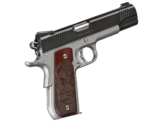 Kimber Camp Guard 10 pistol 10mm personal defense world solo