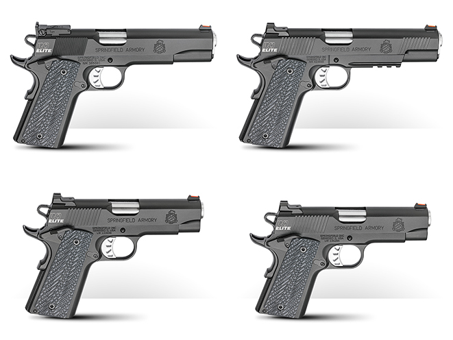 New for 2017: Springfield's Four New 'RO Elite' Pistols