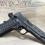 Sig Sauer 1911 We The People handgun