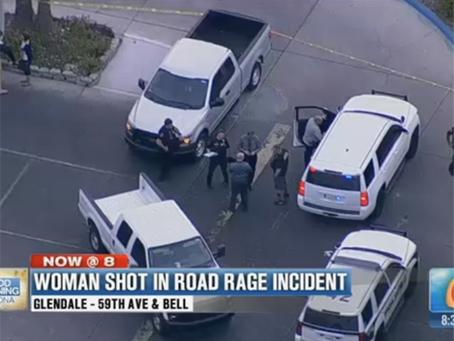 arizona road rage shooting