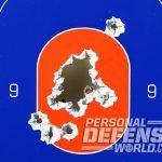 CZ P-10 C FDE pistol target