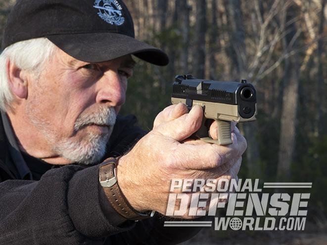 CZ P-10 C FDE pistol test