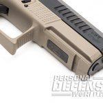 CZ P-10 C FDE pistol picatinny rail