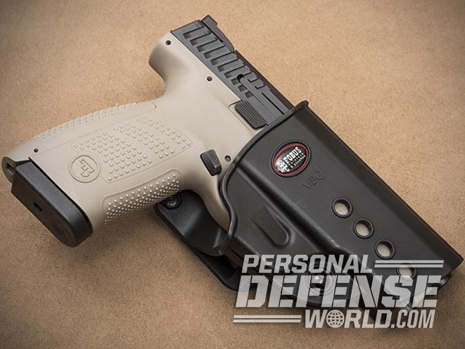 CZ P-10 C FDE pistol holster