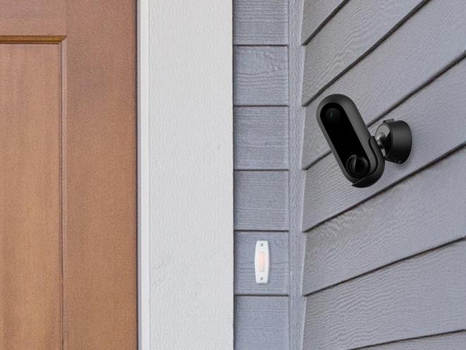 canary camera door