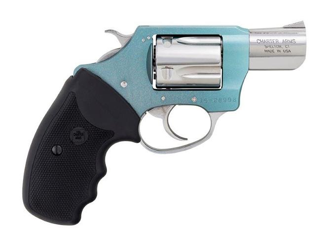 Charter Arms undercover lite blue diamond revolver right profile