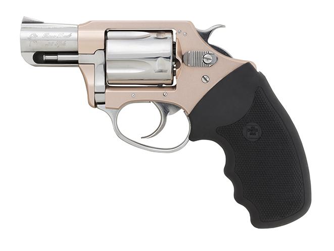 Charter Arms undercover lite rosebud revolver left profile