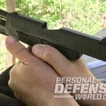 Walther Creed pistol firing