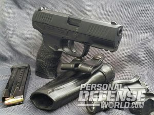 Walther Creed pistol right angle