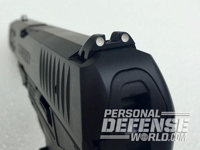 Walther Creed pistol rear sight