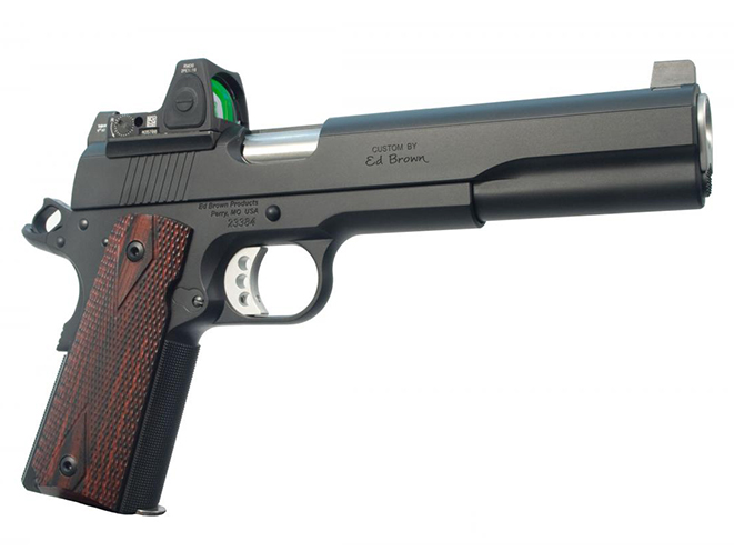 Ed Brown LS10 pistol right profile
