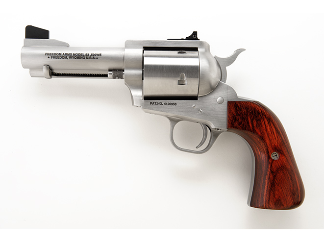 Freedom Arms Model 83 hunting revolvers