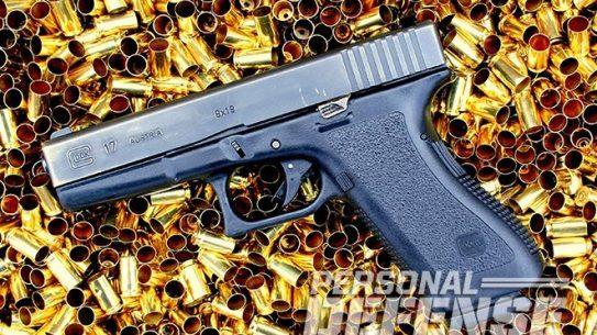 Glock 17 pistol ammo