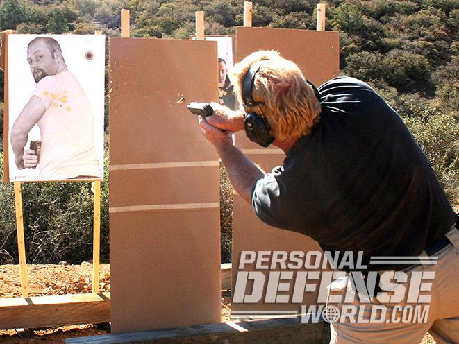Glock 17 pistol test