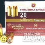 Glock 17 pistol ammunition