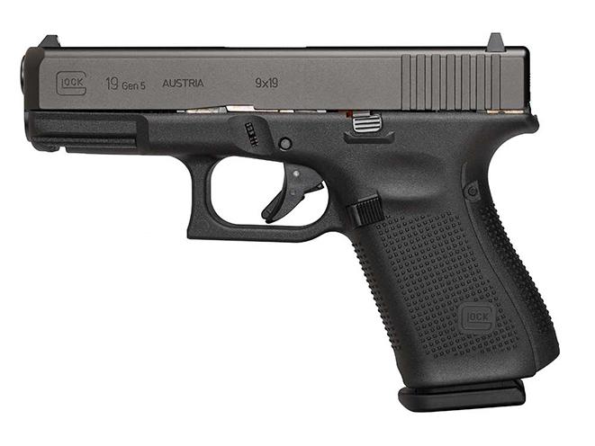 Glock gen5 glock 19 pistol