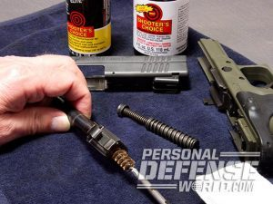handgun cleaning tips