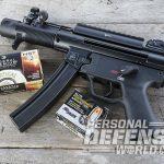HK SP5K pistol ammo