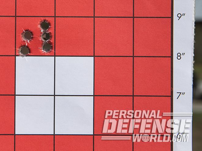 HK SP5K pistol target